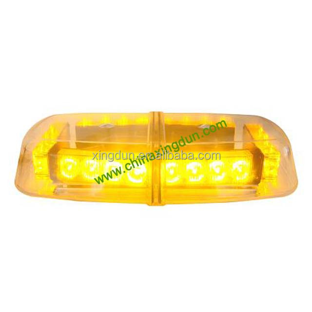 dual volt magnetic mounting amber led beacon light bar LED-235H