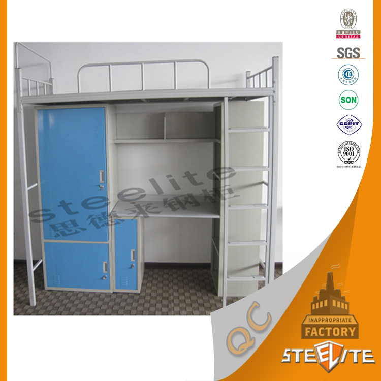 Wholesale Price High Quality Furniture Metal Folding Bunk Bed/Two Level Bed