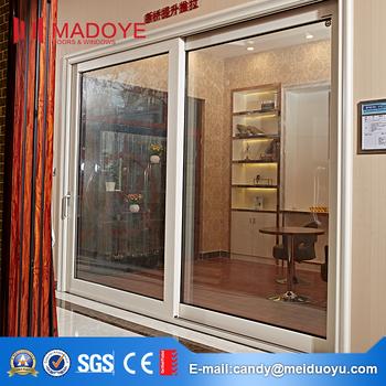 Prezzo A Buon Mercato Foshan Alluminio Bifold Vetro Balcone Porta ...