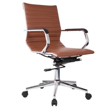 Leather Office Low Back Swivel