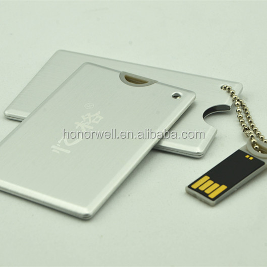 card usb flash 8GB wholesale customized logo for gift or use