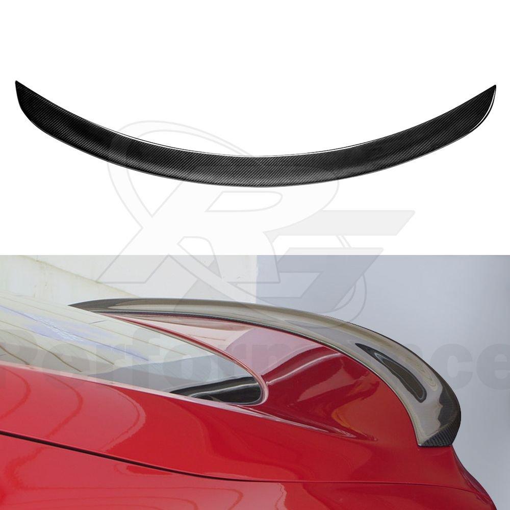Carbon Fiber Trunk Spoiler Fits Tesla Model S Sedan 2012-2018, Gloss Black