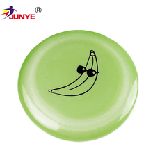 China professional manufacture indoor pvc promotion frisbee