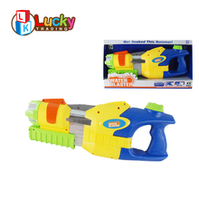new type kids multifunctional pumping revolver water gun with 4 nozzles