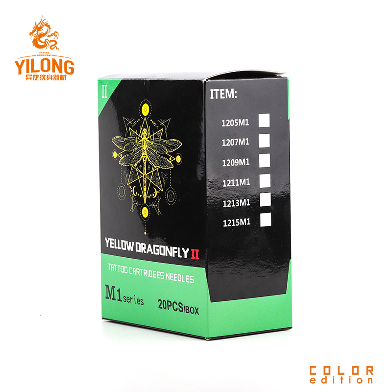 Yilong kit sterile tattoo needles supply for tattoo machine-27