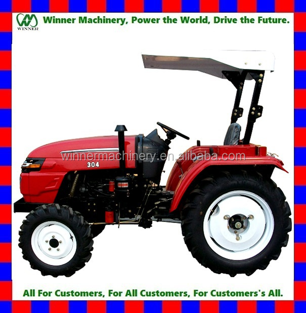 Hot Sale! China 2WD & 4WD 20HP mini gardon tractor for sale