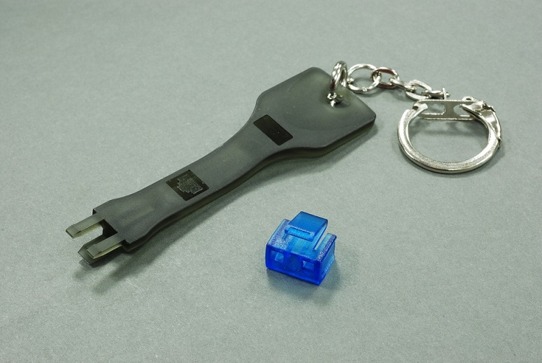 Network Rj45 Female Connector Security Port Lock And Key