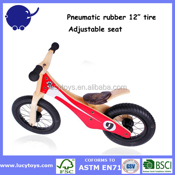 Best buy pneumatic wheels bike wooden folding bicycle kids bike for 3 5 years old