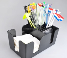 6 Conpartment Kunststoff <span class=keywords><strong>Bar</strong></span> Caddy Organizer