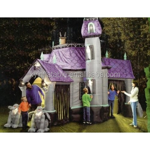 Giant halloween inflatable haunted house for hallomas