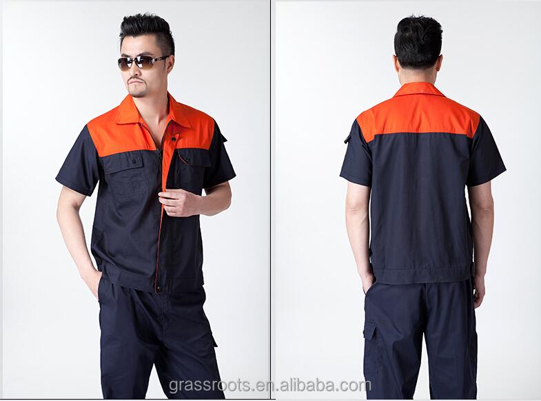 Diseño De Alta Calidad Para Hombre Su Propio Uniforme De Trabajo Usa ... 5d329371de68