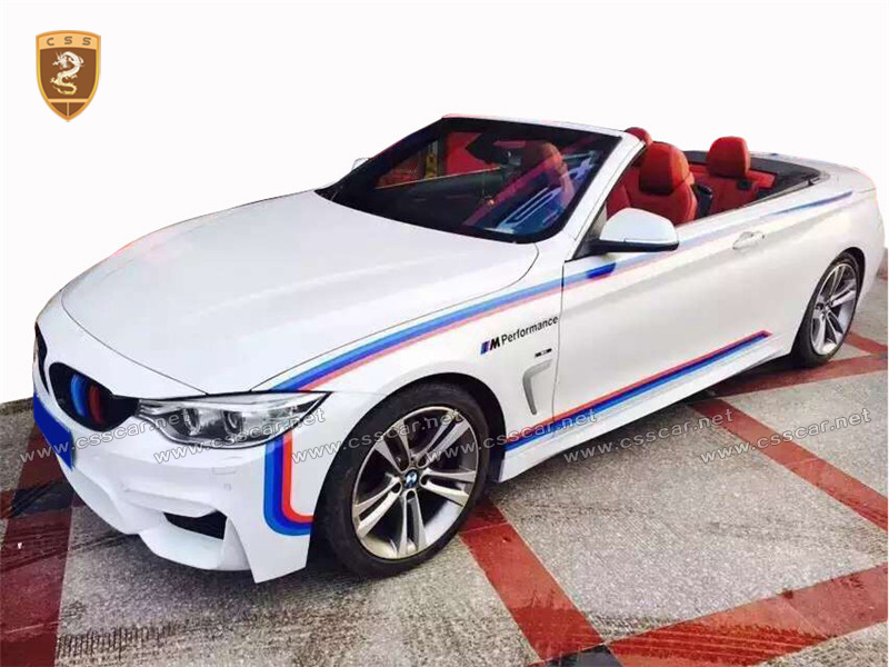 Body Kit for BMW PP Material for BMW F32 Change M4 Style BodyKits