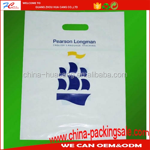 Logo printing professional customized fancy cheap PE cloth carrying bag