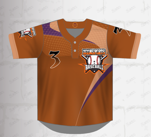 Custom Sublimation Sports Wear Team Wear New Design Baseball Jersey Uniform
