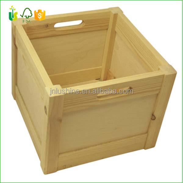caja de madera plegable cajas de madera para frutas y hortalizas