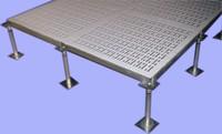 Guangzhou Computer Room Wanael 600*600 Anti-Static Stainless Steel Vinyl Raised Floor