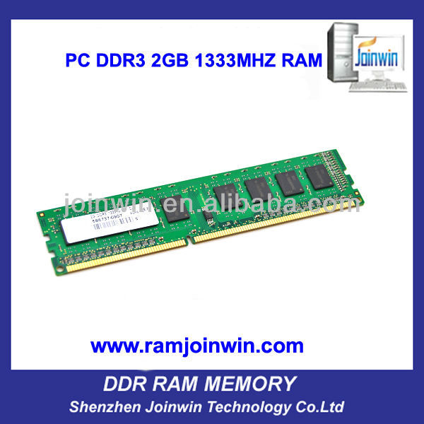 Computer part lifetime warranty desktop ddr3 2gb rams