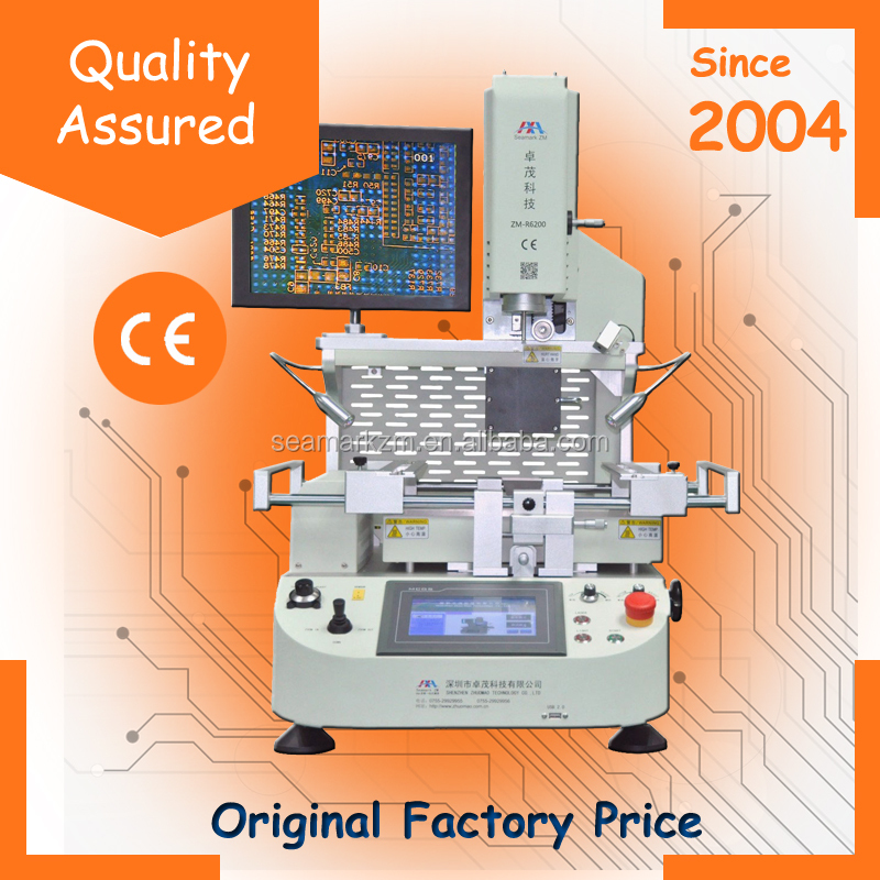 Notebook motherboard repair tools ZM-R6200 hot air infrared BGA rework station with optical alignment system