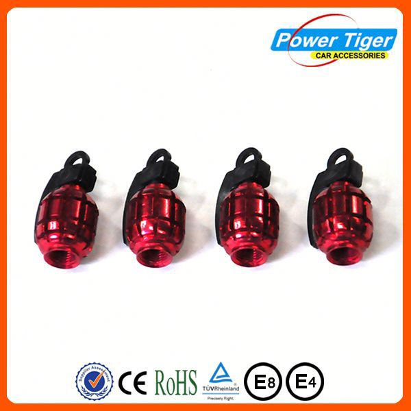 Various Colors Available tire valve cap with pressure indicator