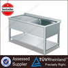 Top SS304/201 NSF Deep Free Standing Stainless Steel Kitchen Sink