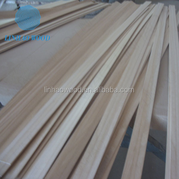 Thin wood strips for oversea market