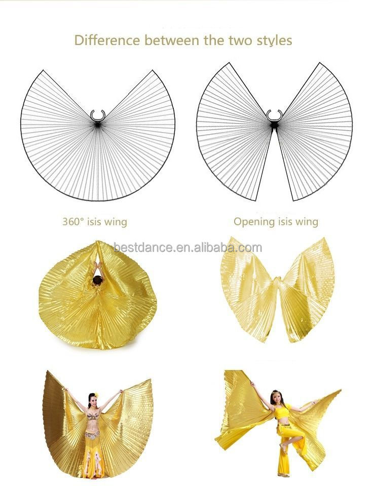 no stick Belly Dance Isis Wings Isis Wings Opening or 360° Isis Wings