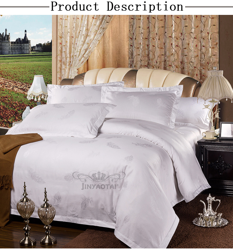 ... Wholesale Cotton Hotel Linen Jacquard Super King Size Bed Sheets  Manufacturers In China