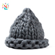 Manufacturer price women cable beanie witch a pointed hat ice torch Ice cream winter hat
