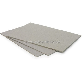 800gsm Gray Board Paper Recycled Chipboard Binder Paper For Handbag And Photo Frames