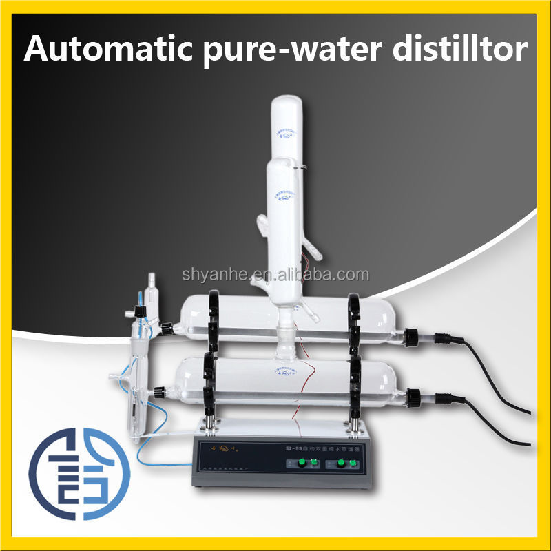 Sz-93 Laboratory Water Distiller Electric Water Distiller 5 Liter ...