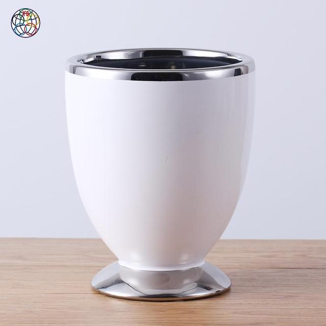 China garden pot in ceramic wholesale alibaba modern style white and silver outdoor ceramic plant large chinese garden pots flower pot in cheap workwithnaturefo