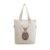 2019 Fashion durable Folding Organic Canvas Shopping Bag Sublimation Tote Bag