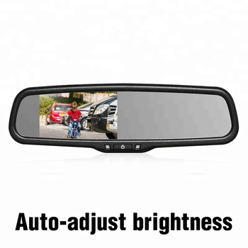 Hot sell 4.3 inch rear view car mirror monitor