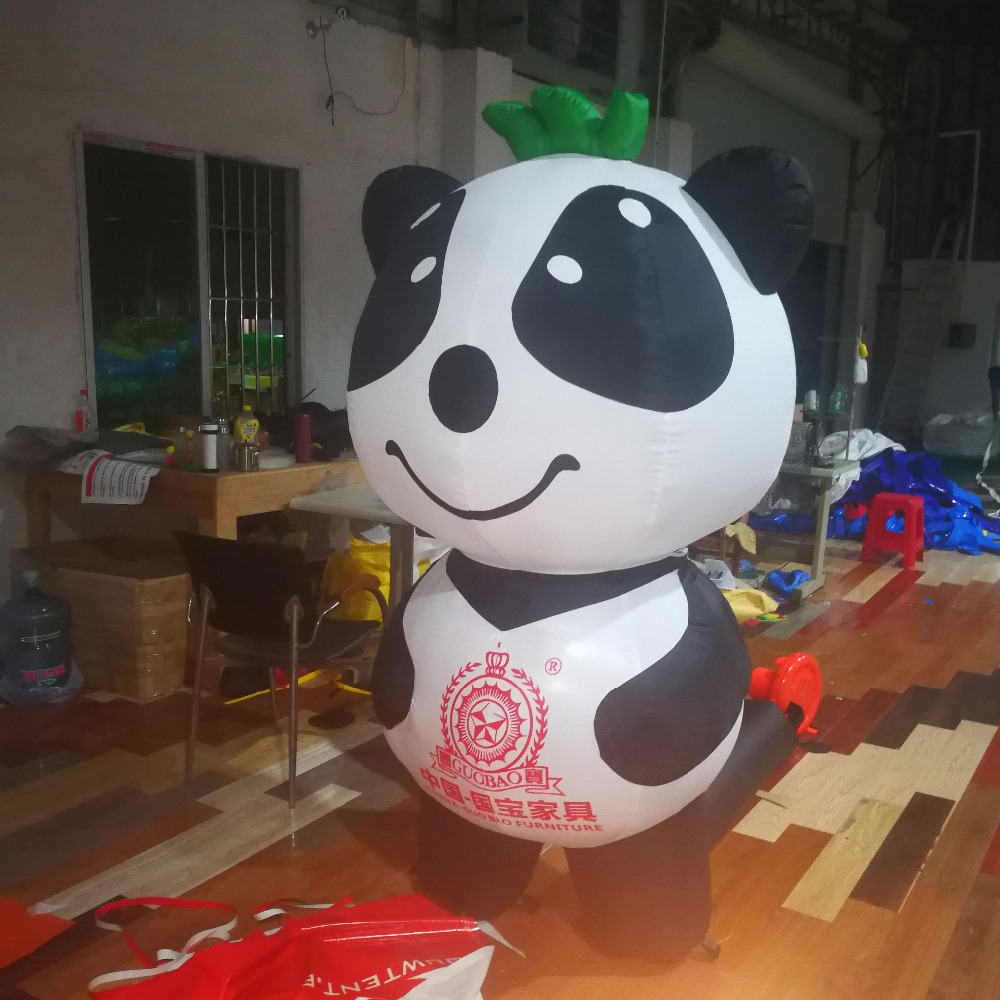 <strong>Inflatable</strong> mascot amusement park plaza <strong>inflatable</strong> giant panda