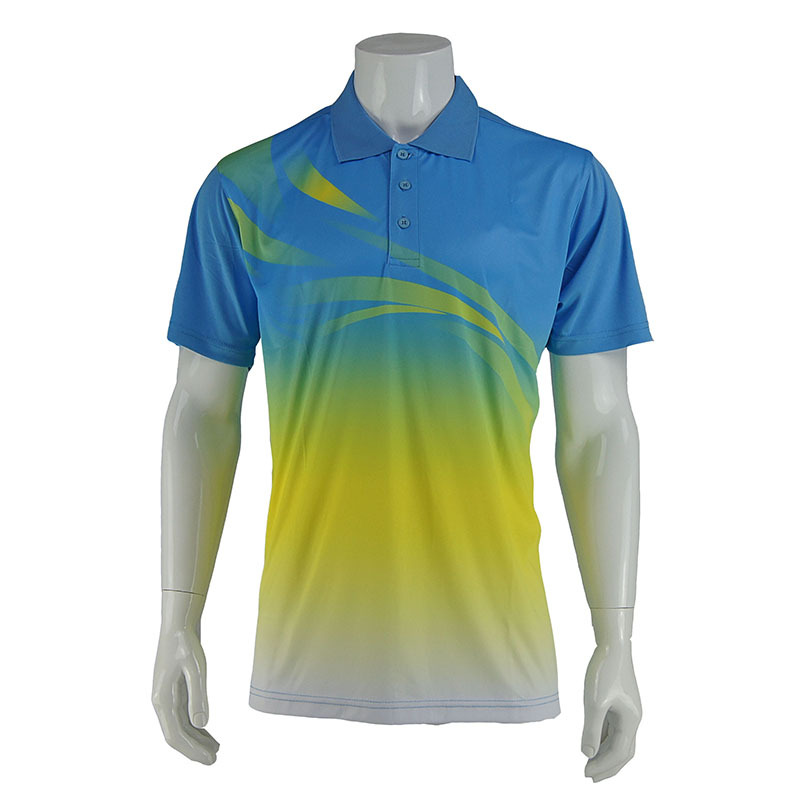 2015 New Men Golf Classic turn-down collar POLO Shirt Short Sleeve Casual Sports Shirt Tops plus size For Free shipping
