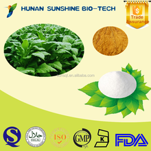 Professional supplier for Tobacco leaf P.E. 90% Solanesol