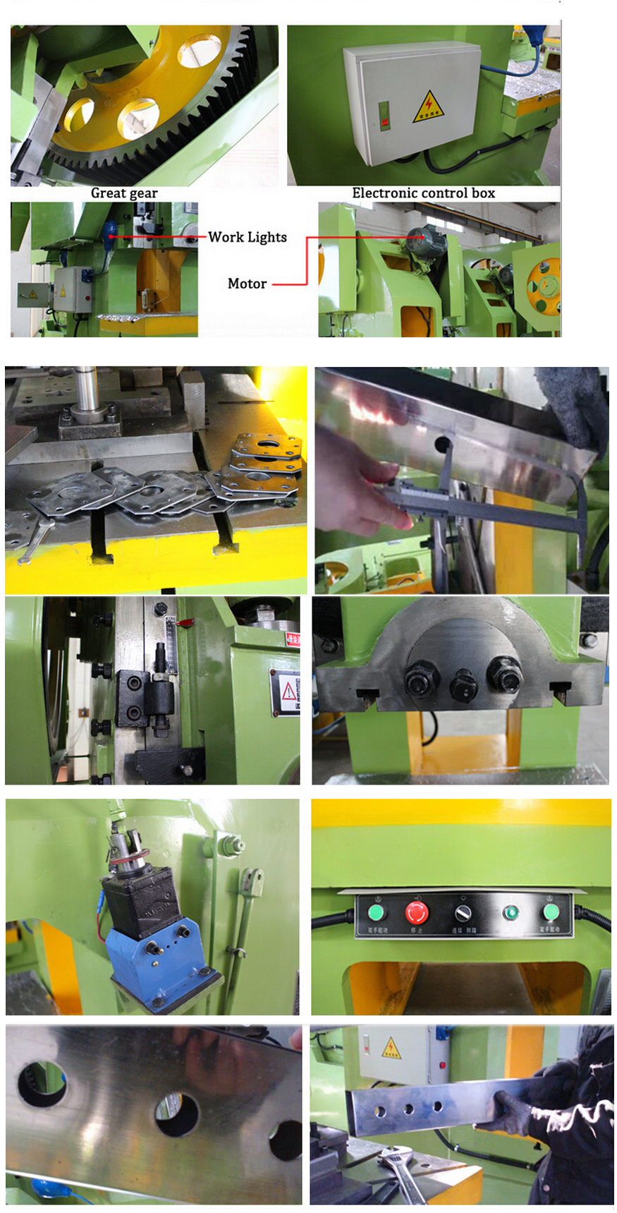 Quality new sheet metal manual hole punching machine with CE,not used punching bag arcade machine for sale