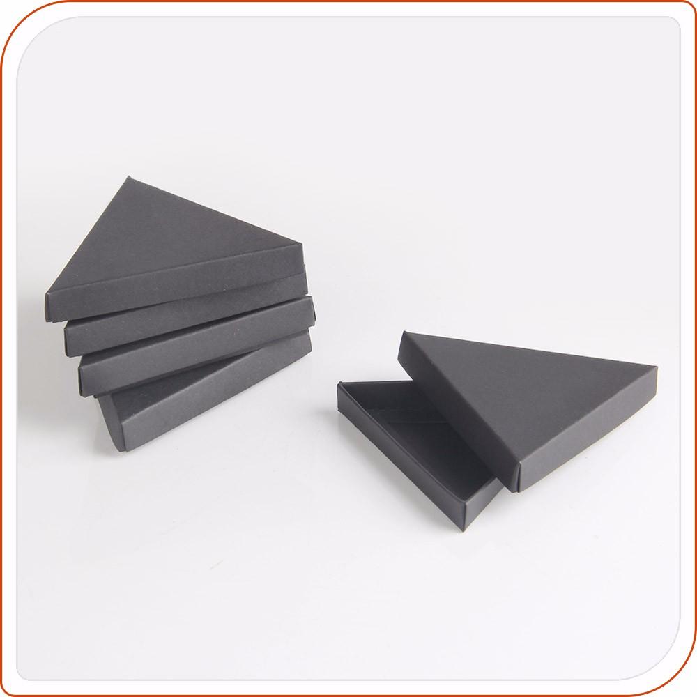 noir mat papier origami triangle boîte pieds serrure - buy boîte en