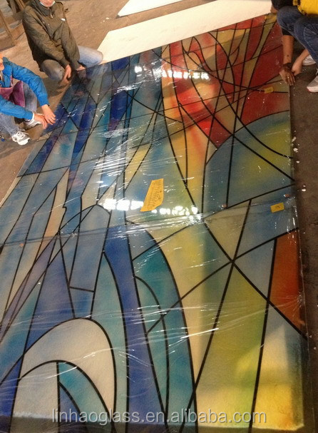Glass Wall Prices Stained Glass Feature Wall Design Buy
