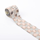 LOCACRYSTAL brand plastic rhinestone banding chain for t-shirt jeans decoration bridal lace trim