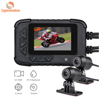 High Quality Motorbike Camera 1080P Full HD Motorcycle DVR With GPS