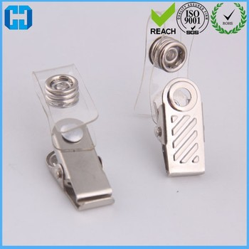 6456bc6224ee Badge Clips Metal Clear Id Card Name Tag Holder Strap Clip - Buy Metal Id  Badge Clip,Card Holder,Badge Clip Product on Alibaba.com