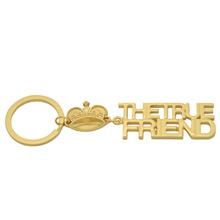 K001 New Letter Keychain,English Alphabet Souvenir Keychain, True Friend Metal Keychain