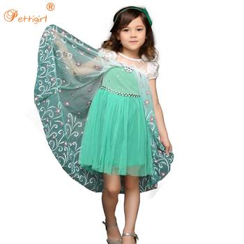 Princesa anna vestido verde
