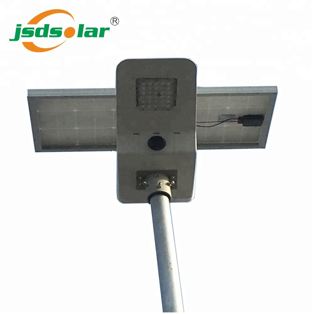 new design vega waterproof ip66 integrated solar led street light all in one design