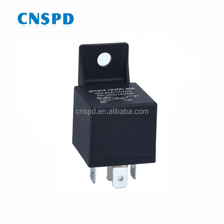 5 Pin JD1914 12 v 40a mini auto relais