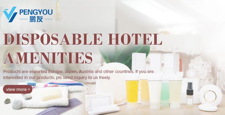 Kostenlose Probe Hot Foiled Cap Stil Hotel Shampoo Duschgel