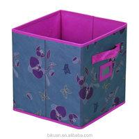 Top grade Crazy Selling animal print folding storage bins