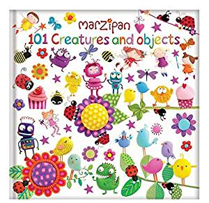 Marzipan 101 Creatures And Objects Padded Counting Book For Children