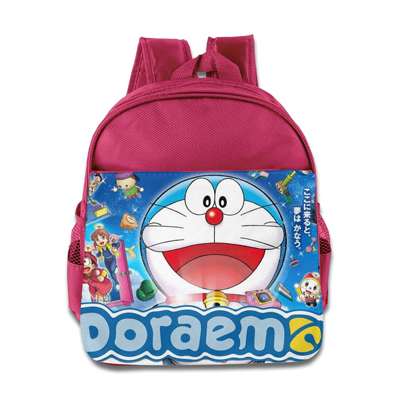 6b68dbba9fd9 Get Quotations · Toddler Kids Doraemon School Backpack Cute Baby Boys Girls  School Bag